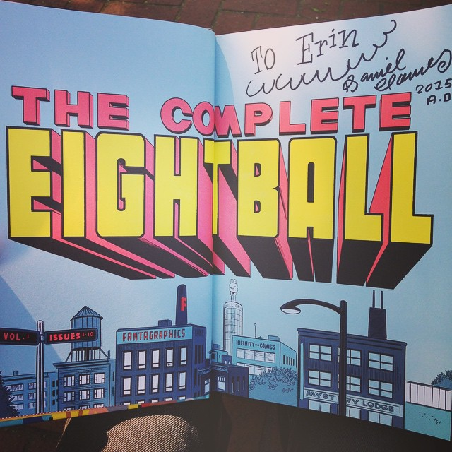 Daniel Clowes The Complete Eightball signed