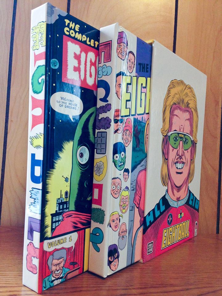 Daniel Clowes The Complete Eightball