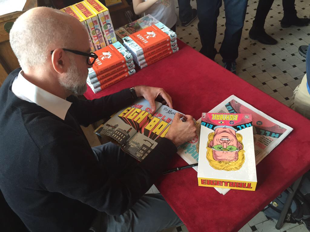 Daniel Clowes at Fantagraphics