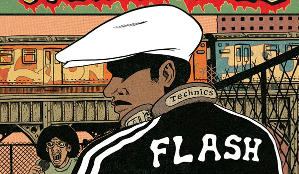 Hip hop family tree cover italiana