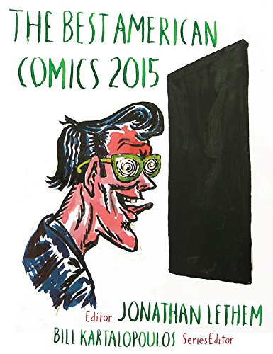Best american comics 2015 cover