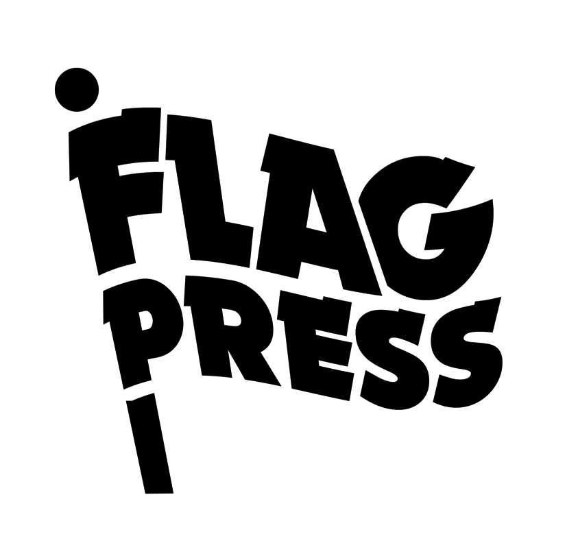 Flagpress logo low