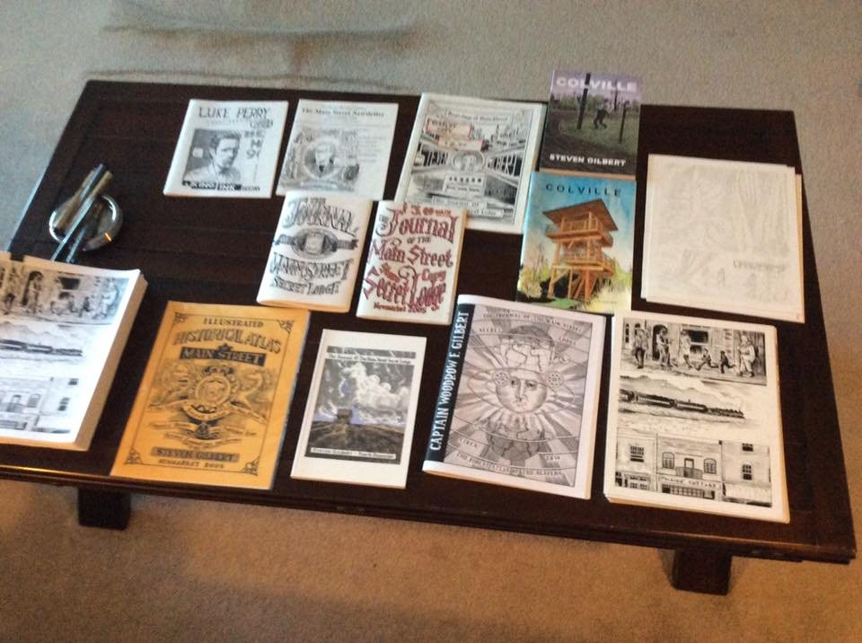 Zines and comics by Steven Gilbert